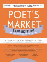 Poet's Market 34th Edition