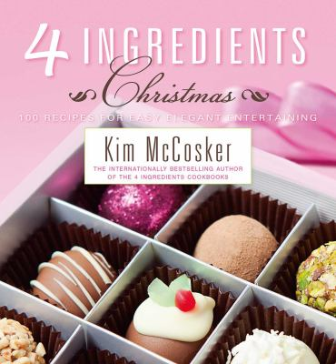 Book cover for  4 Ingredients- Christmas