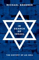 In search of Israel : the history of an idea