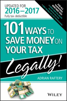 Book cover for 101 ways to save money on your tax - legally!