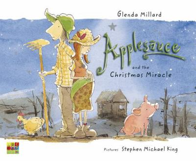 Link to Catalogue record for  Applesauce and the Christmas miracle