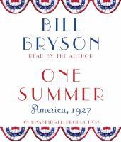 One summer [America, 1927]