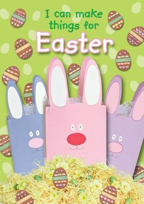 Book cover for I can make things for Easter