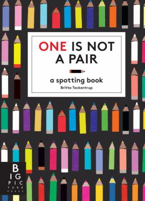 One is not a pair : a spotting book