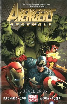 Avengers Assemble. Science Bros