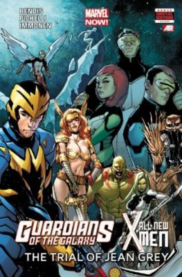 Guardians of the galaxy, all new X-Men: the trial of Jean Grey
