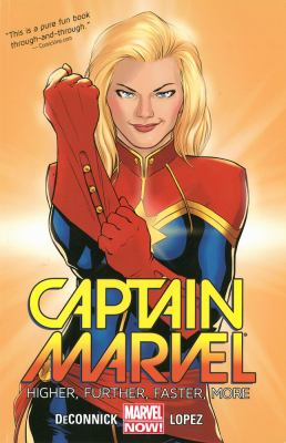 Captain Marvel. Vol. 1, Higher, further, faster, more