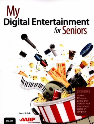 """Book Cover - My digital entertainment for Seniors"""" title=""""View this item in the library catalogue"""