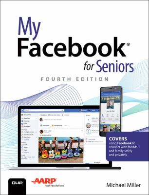 """Book Cover - My Facebook for Seniors"""" title=""""View this item in the library catalogue"""
