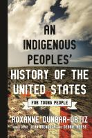 An Indigenous Peoples' History of the United States for Young People