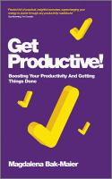 Get Productive!