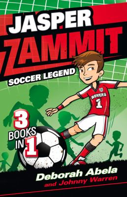 Link to Catalogue record for Jasper Zammit : soccer legend