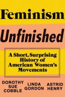 Feminism Unfinished