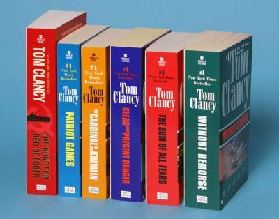Jack Ryan Books 1-6