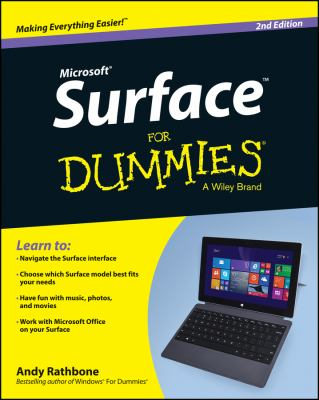 Microsoft Surface for dummies