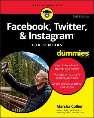 Facebook, Twitter, and Instagram for seniors