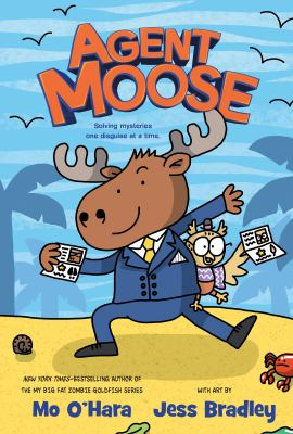 Book cover for Agent Moose