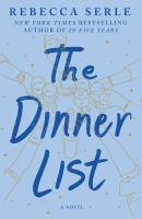 The Dinner List A Novel
