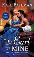 This Earl of Mine--A Bow Street Bachelors Novel