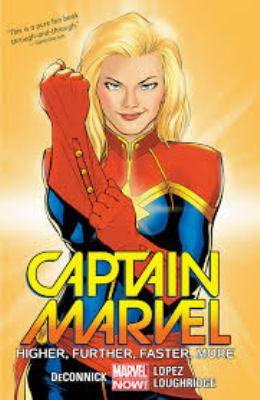 Captain Marvel. Volume 1, issue 1-6, Higher, further, faster, more