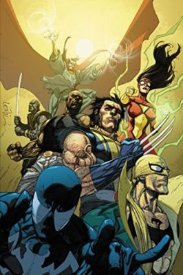 The new Avengers by Brian Michael Bendis.