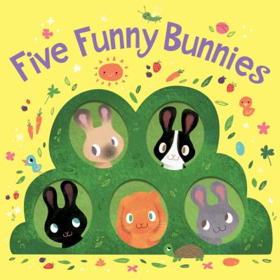 Book cover for Five funny bunnies