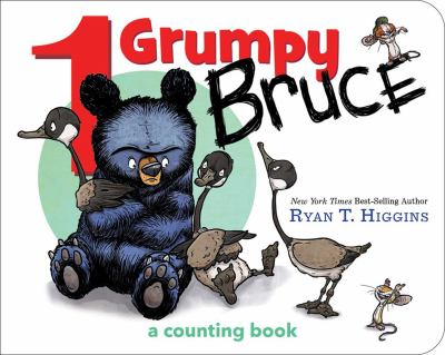1 grumpy Bruce :  a counting book