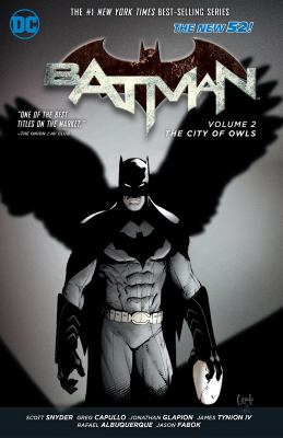 Cover Image for Batman. Volume 2, The City of Owls