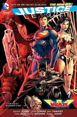 Justice League. Trinity war
