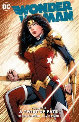 Book cover for Wonder Woman Volume 8