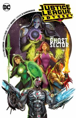 Book cover for Justice League odyssey. Vol. 1, The ghost sector