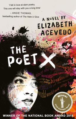 Book cover for The poet X