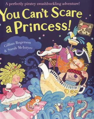 Book cover for You can't scare a Princess