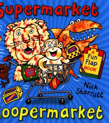 Book Cover Image for SUPERMARKET ZOOPERMARKET