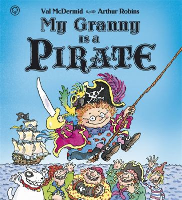 Book cover for My Granny is a Pirate