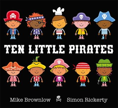 Book cover for Ten Little Pirates