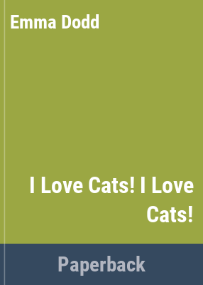 Book cover for  I love cats!