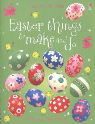 Book cover for Easter things to make and do