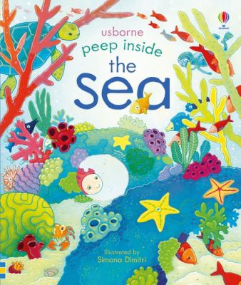 Book cover for Peep inside the sea