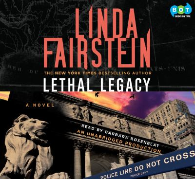 Lethal Legacy a Novel