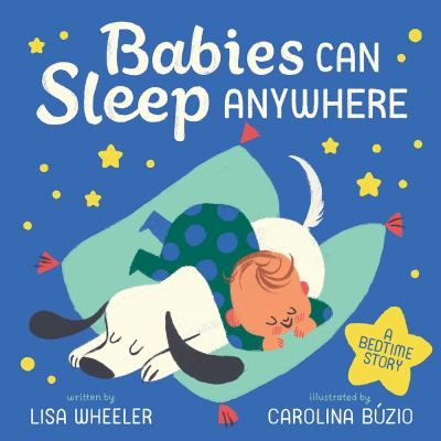 Babies can sleep anywhere : a bedtime story