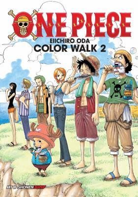 One piece: color walk. 2