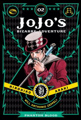Jojo's bizarre adventure. Part 1, Phantom blood. Vol. 02