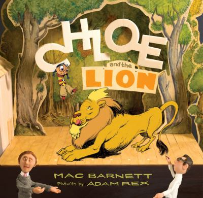 Chloe and the lion