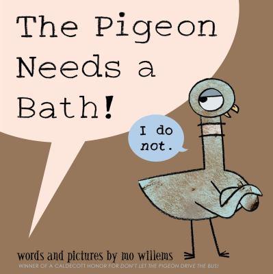 The pigeon needs a bath!