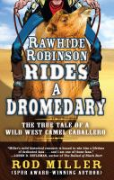 Rawhide Robinson Rides a Dromedary