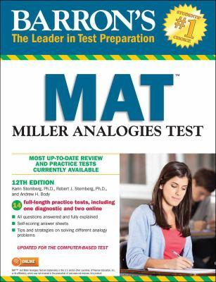 Barron's MAT :  Miller Analogies Test