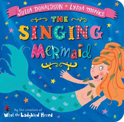 Book cover for The singing mermaid