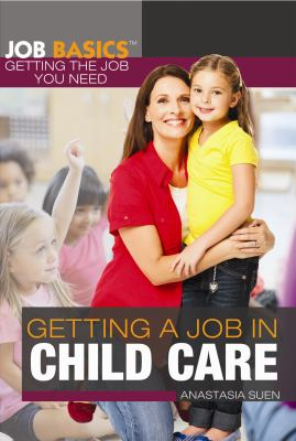 Getting a job in child care