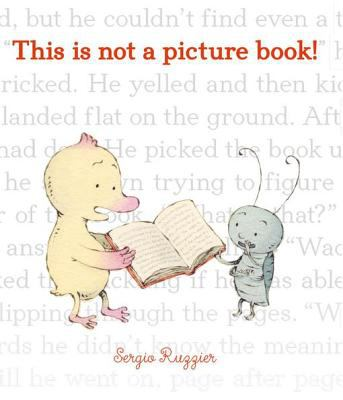 This is not a picture book.